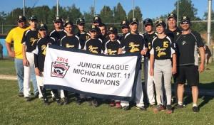 Portage Lake Junior Little League 2014-07