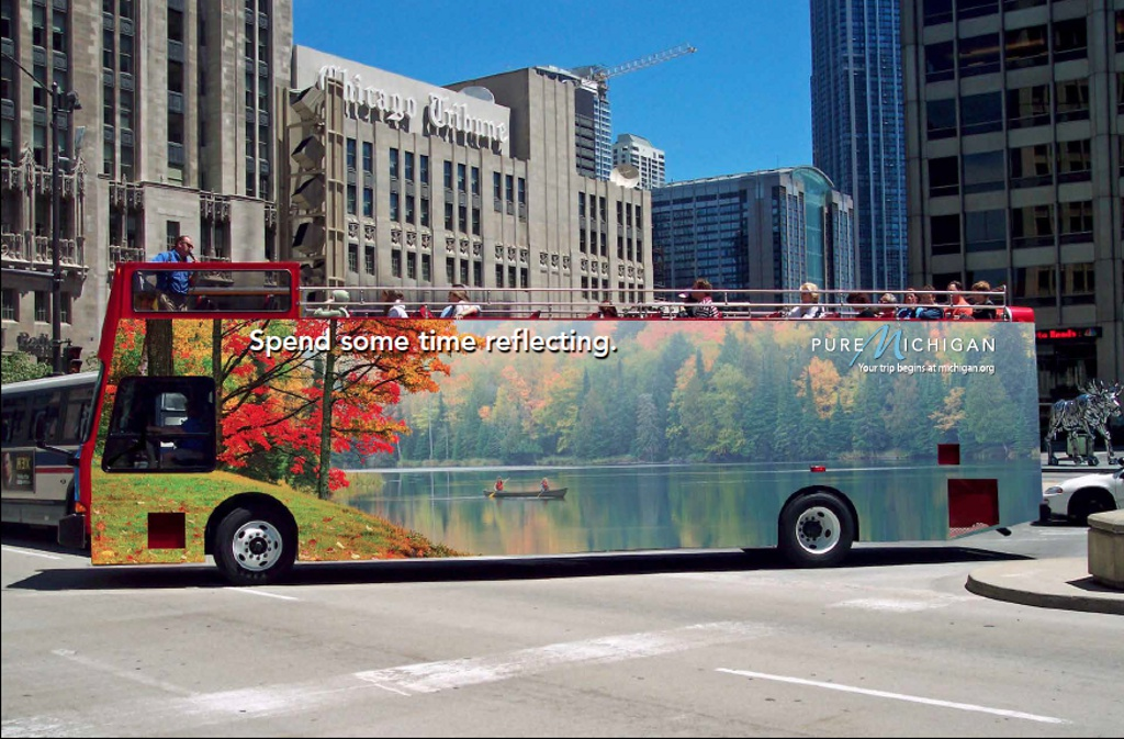 Plumbago Pure Michigan Bus