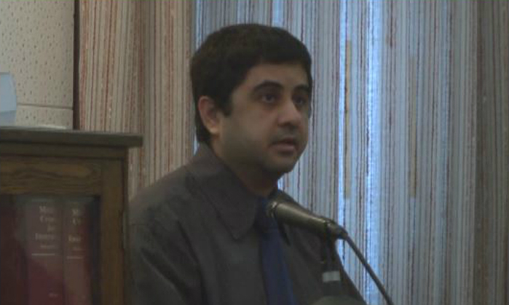 Nassiri at his trial in 2014