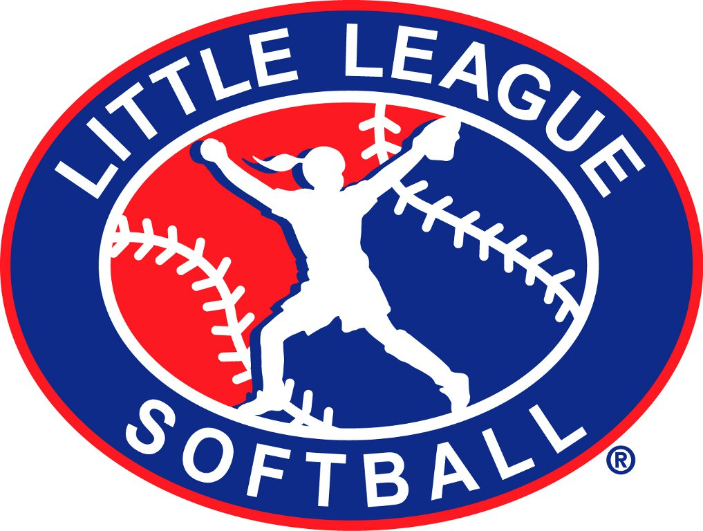 Girls softball league logo