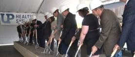 Groundbreaking Ceremony Held For New Marquette Hospital