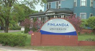 Finlandia University sign