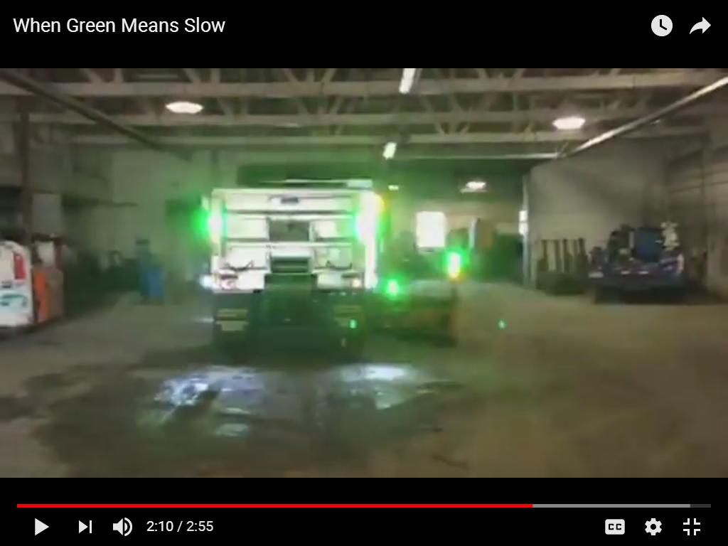 Green Lights On Plow Trucks Getting Noticed By Drivers