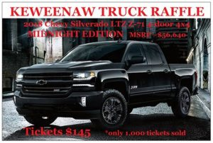 North Woods Conservancy Raffling Off A New Truck - Keweenaw